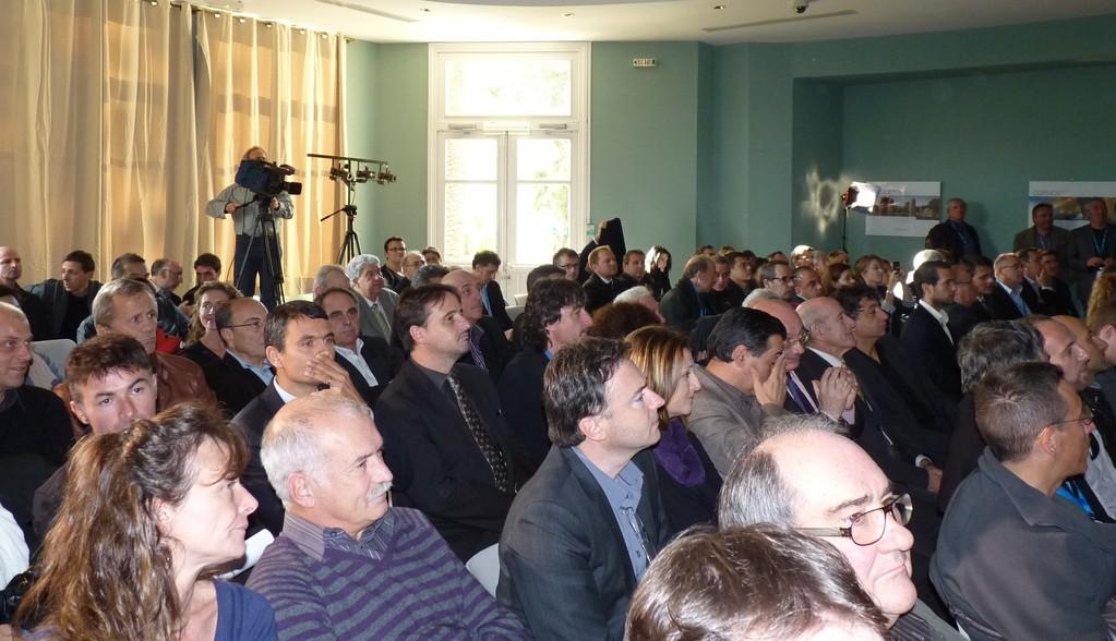 De nombreux élus territoriaux ont suivi la présentation du Tour