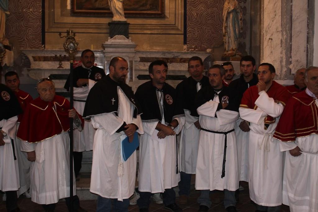 Les confrères de Cateri, Aregno et de Lavatoggio.