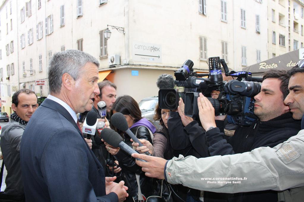 Le préfet de Corse Patrick Strozda