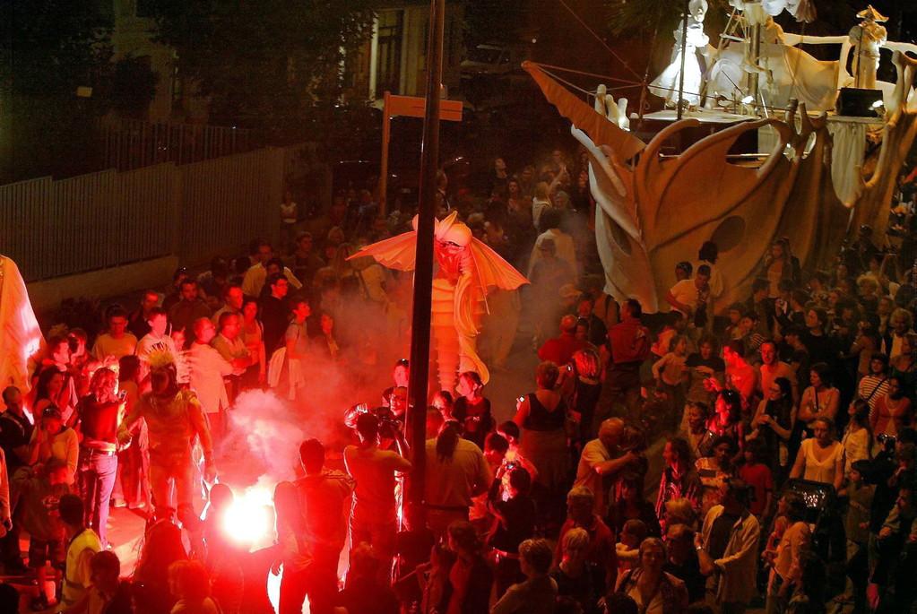 2006 : Spectacle de nuit dans les rues de Calvi