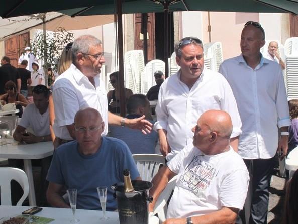 Xavier Bertrand et Bernard Laporte hôtes d'Aregno