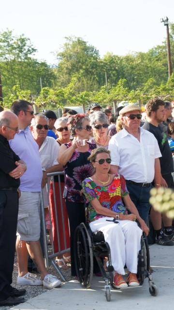 La famille Grimaldi rasseemblée autour de Karine