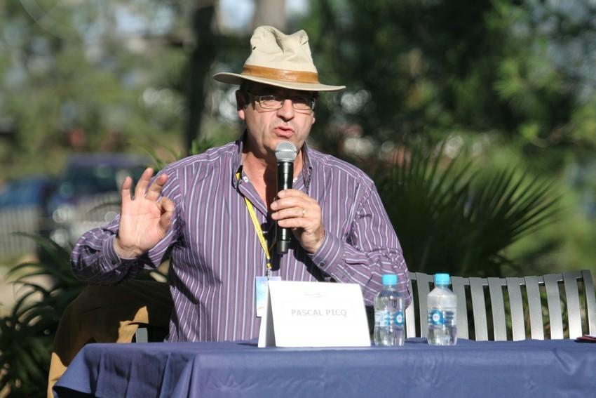 Pascal Picq lors de sa conférence