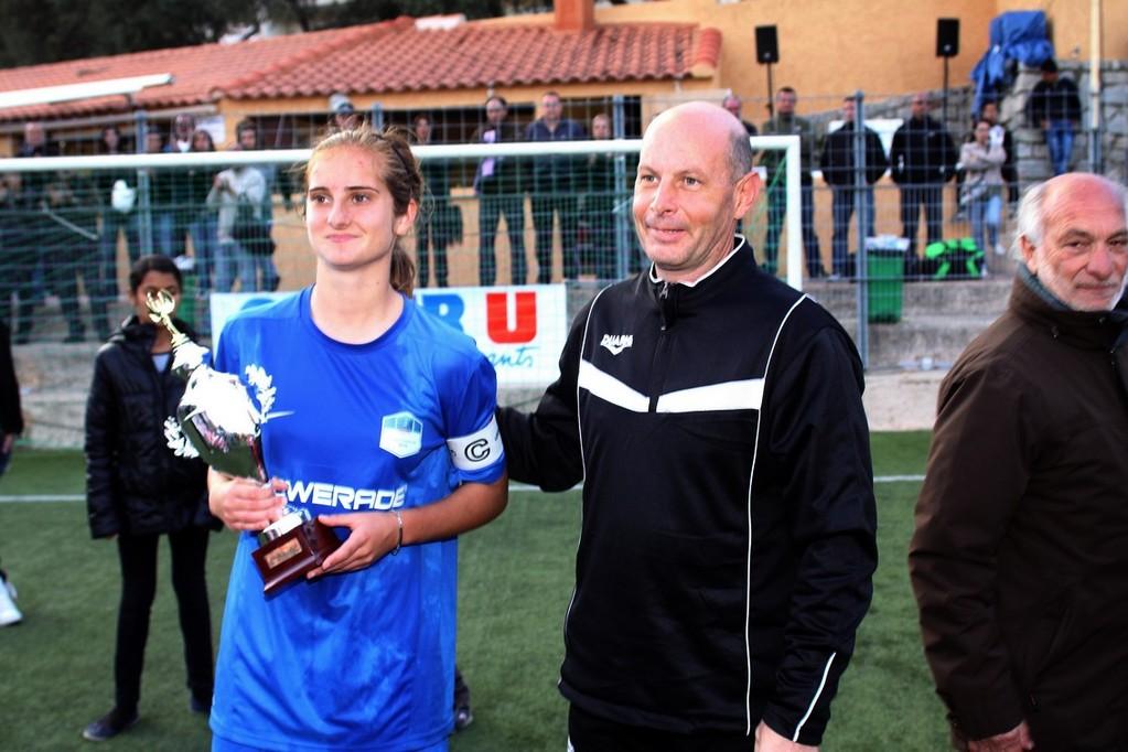 Un trophée pour Morgane Nicoli