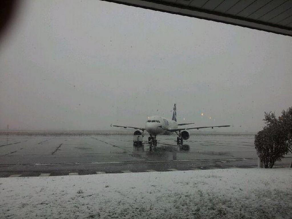 Avion cloué au sol à Poretta