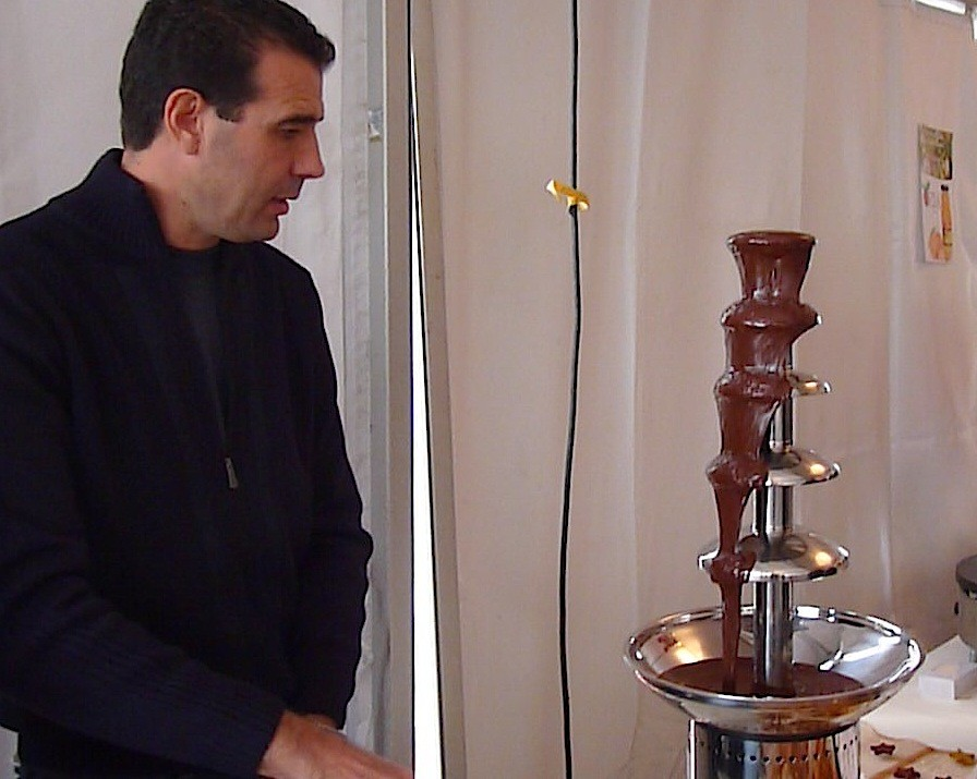 La fontaine à chocolat de Paul Pierinelli : quel succès