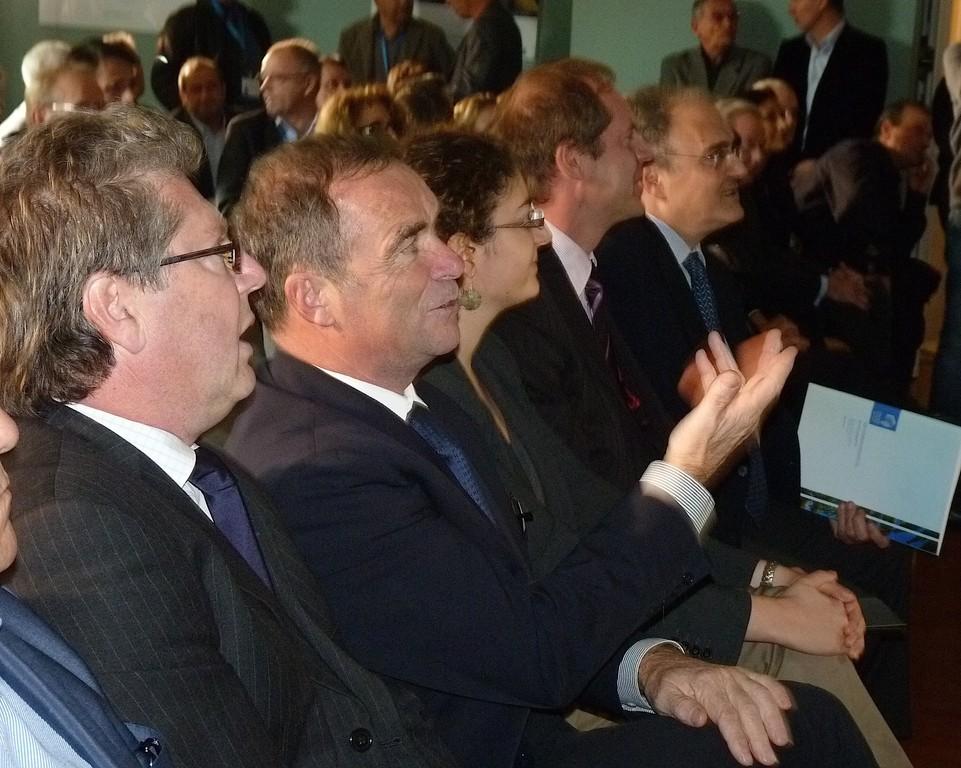 Georges Mela et Bernard Hinault
