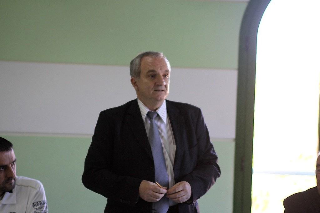 Le maire François Vincentelli