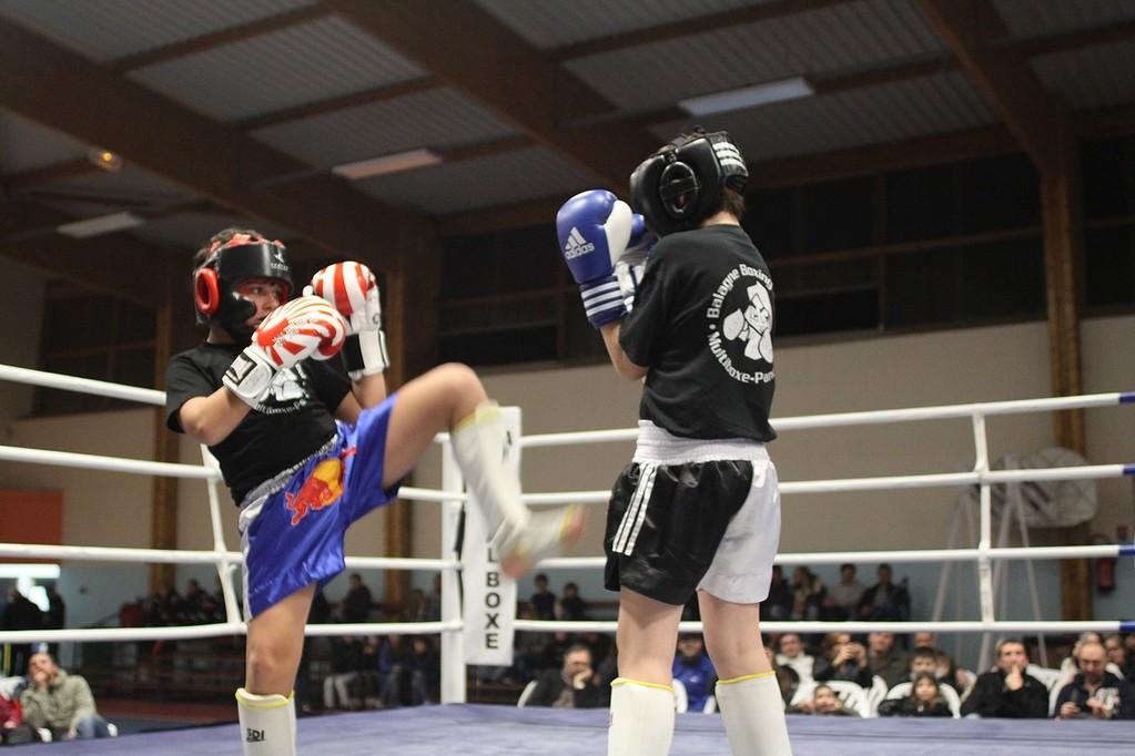 L'école de Kick Boxing
