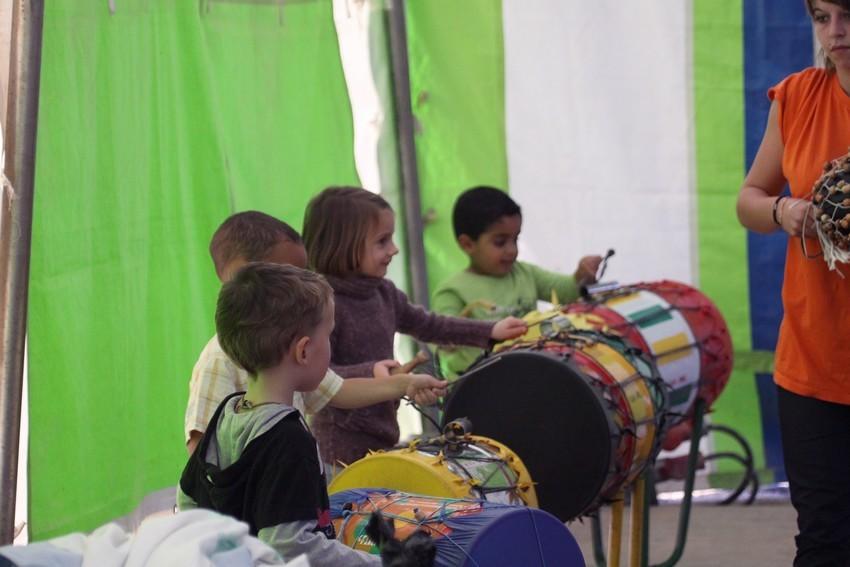 Les ateliers pour enfants ont toujours du succès