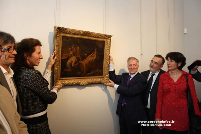 Les tableaux restitués ont retrouvé place au musée Fesch