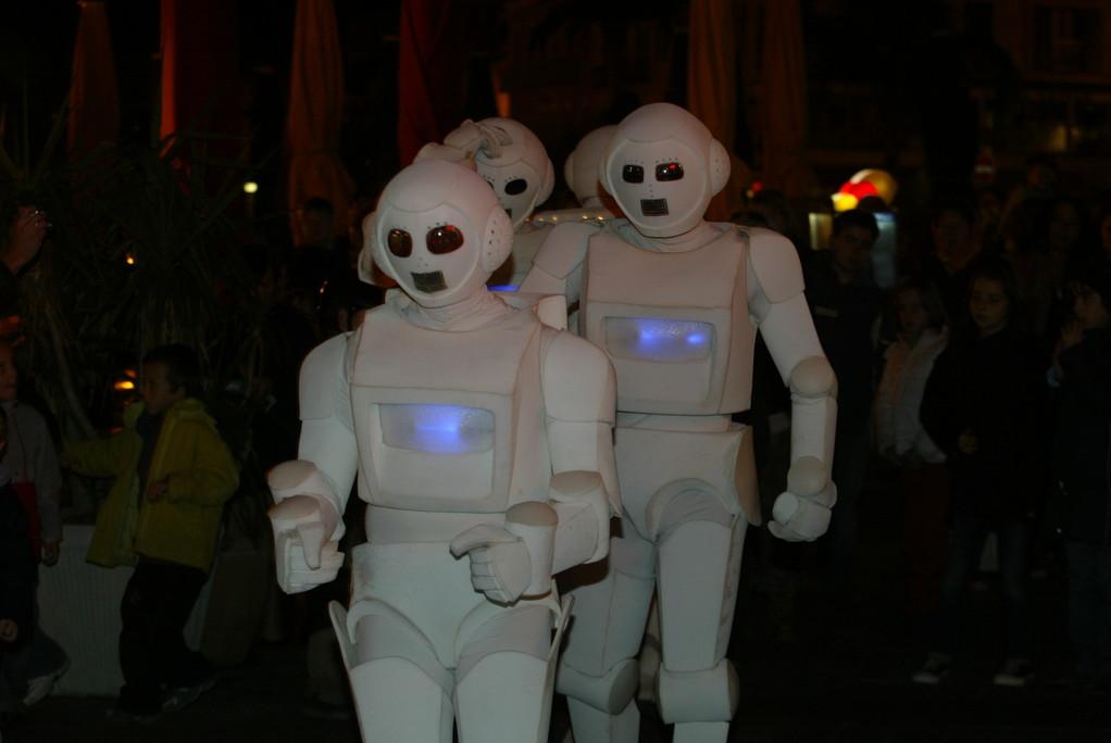 2007 : Les Androïdes dans la rue