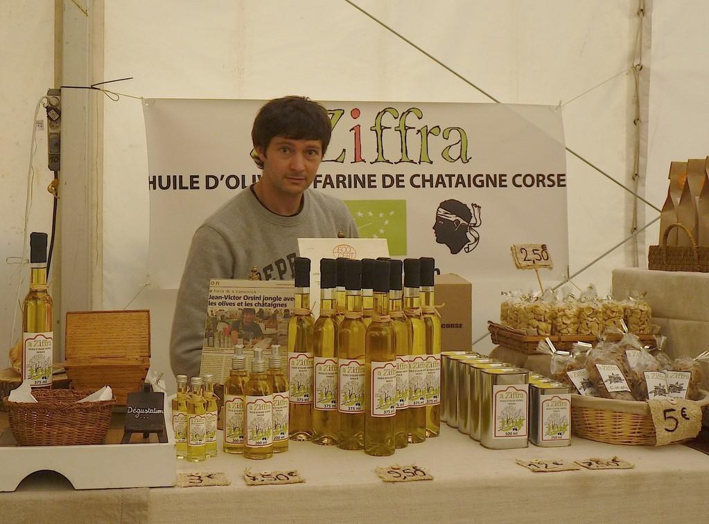 A Ziffra, de l'huile d'olive à la farine de châtaigne