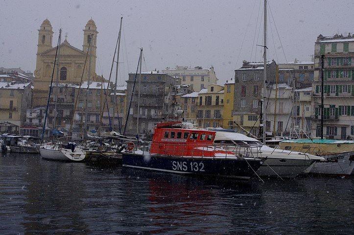La vedette de la SNSM de Bastia