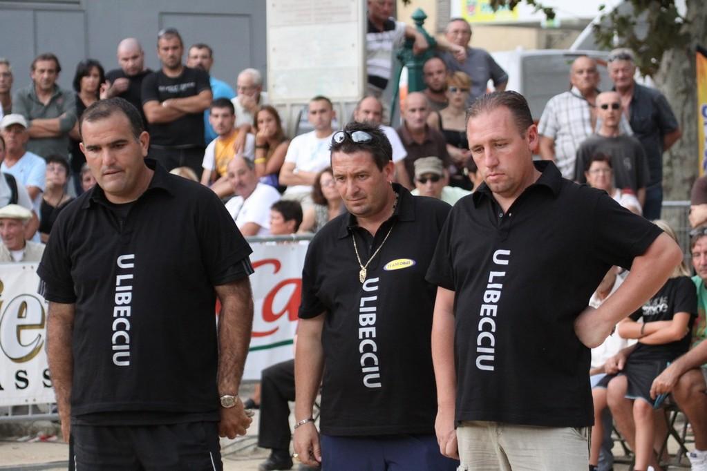 L'équipe Le Boursicaud, Fieschi, Santini