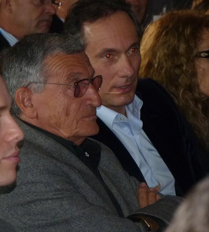 Discret dans la salle, Pierre Cangioni