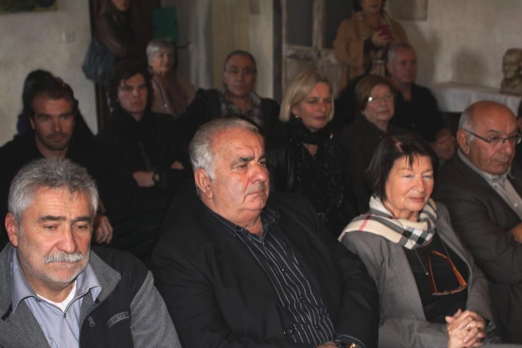 Un public attentif à la Casa balanina