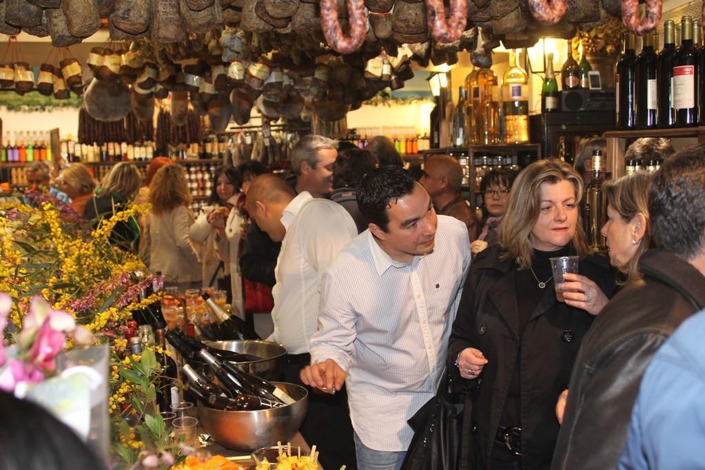 Les commerçants de lza rue Clemenceau parmi les invités
