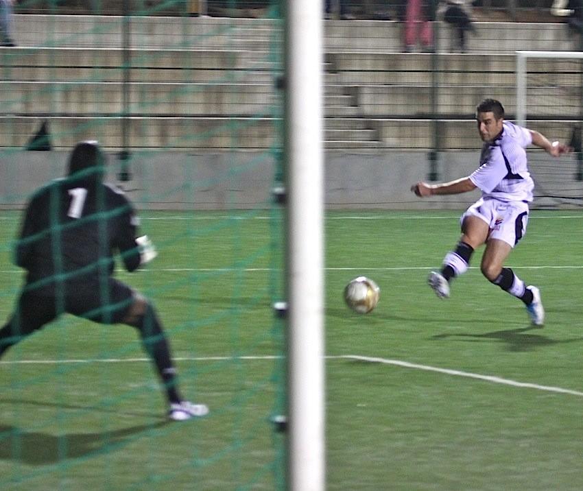 Garcia ouvre le score