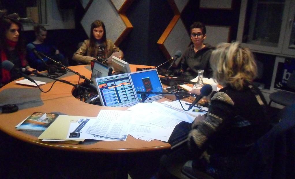 Ondalina Ettori, Ariakina Ettori  et Thomas Herman Polloni : les jeunes cinéastes corses dans les studios de RCFM