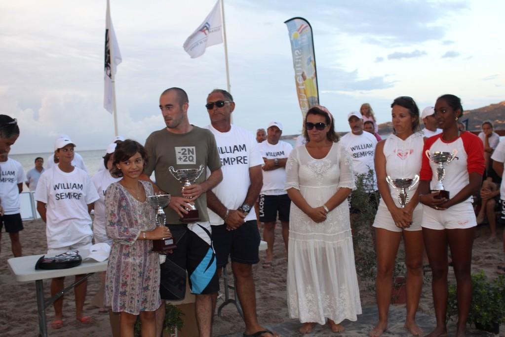 Les trophées Willliam Potorelle remis par sa fille Maroe-Lena