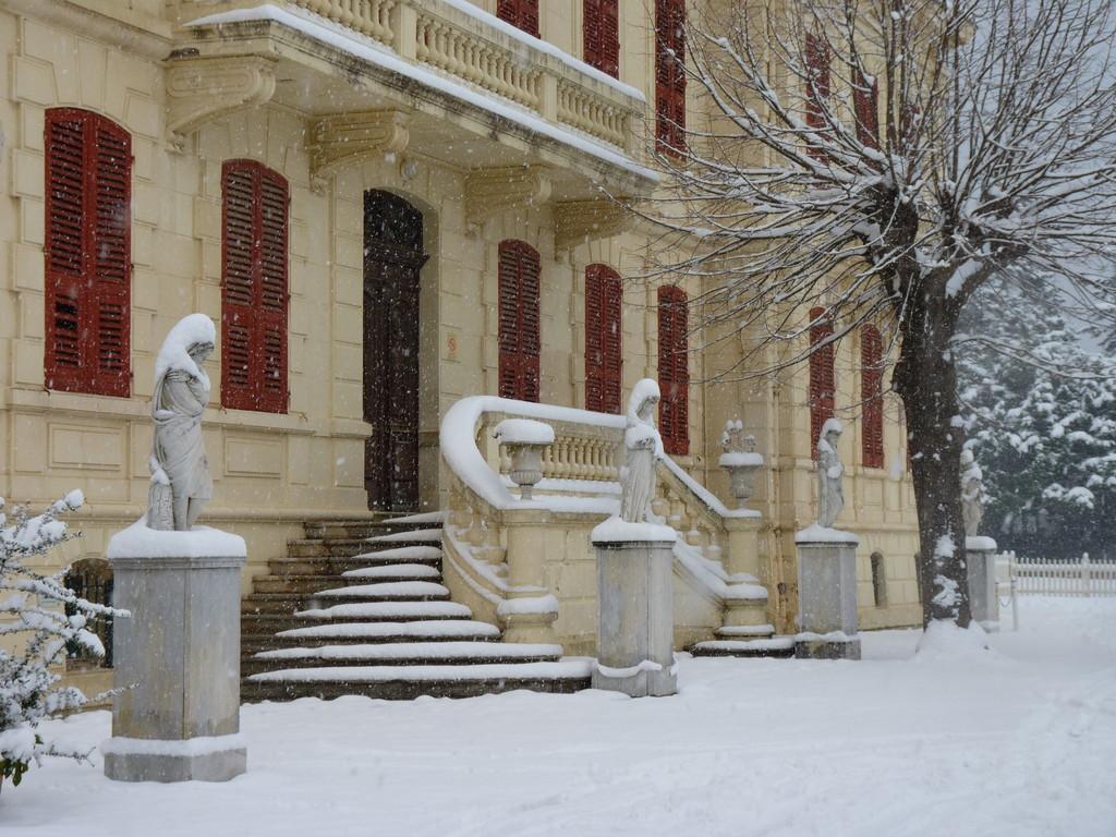 Les quatre saisons du château Cagninacci