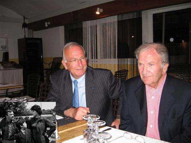 Jean-Baptiste Raffalli avec Pierre Mondy