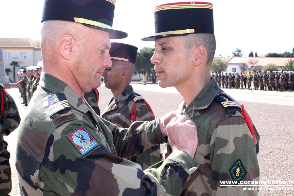 Croix de la valeur militaire pour le capitaine Oudot de Dainville