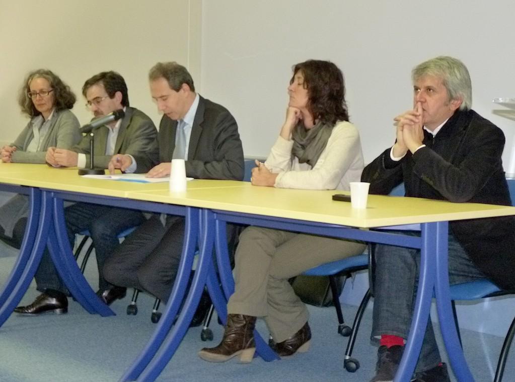 Jean Zuccarelli et les partenaires de la 5e journée régionale du handicap