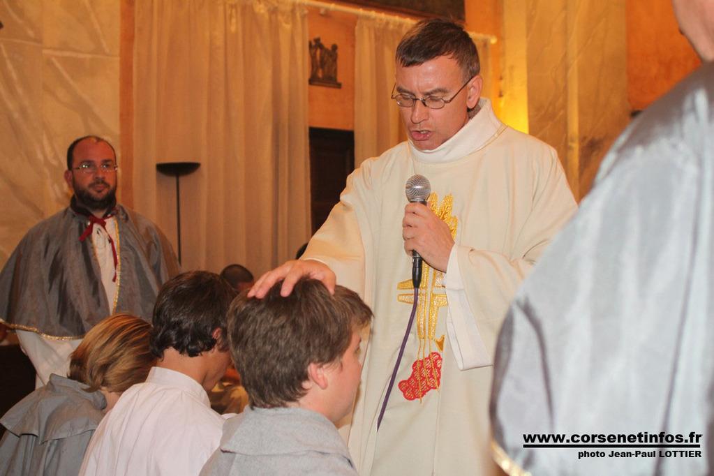 Trois nouveaux confrères à Saint Antoine