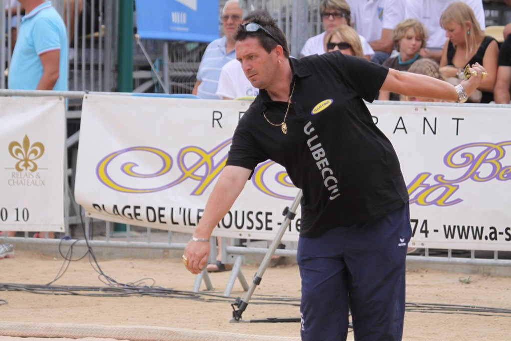 Bruno Le Boursicaud n'a pu rien  faire face à l'équipe de France