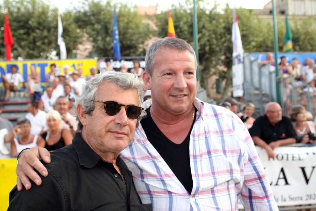 Michel Boujenah et Rolland Courbis