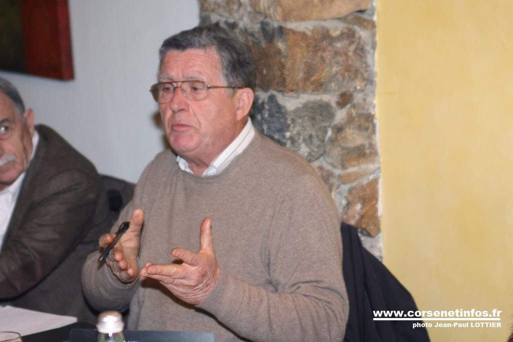 Jean-Marie  Rousseau, président du Lions Bastia