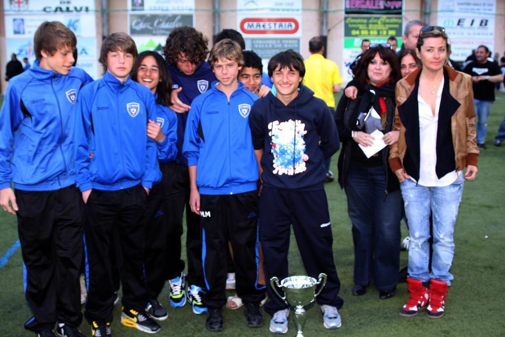 Le SC Bastia 3e