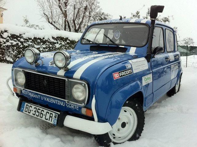 4L Trophy : de la neige de Saint Florent au Maroc (Christian Longinotti)