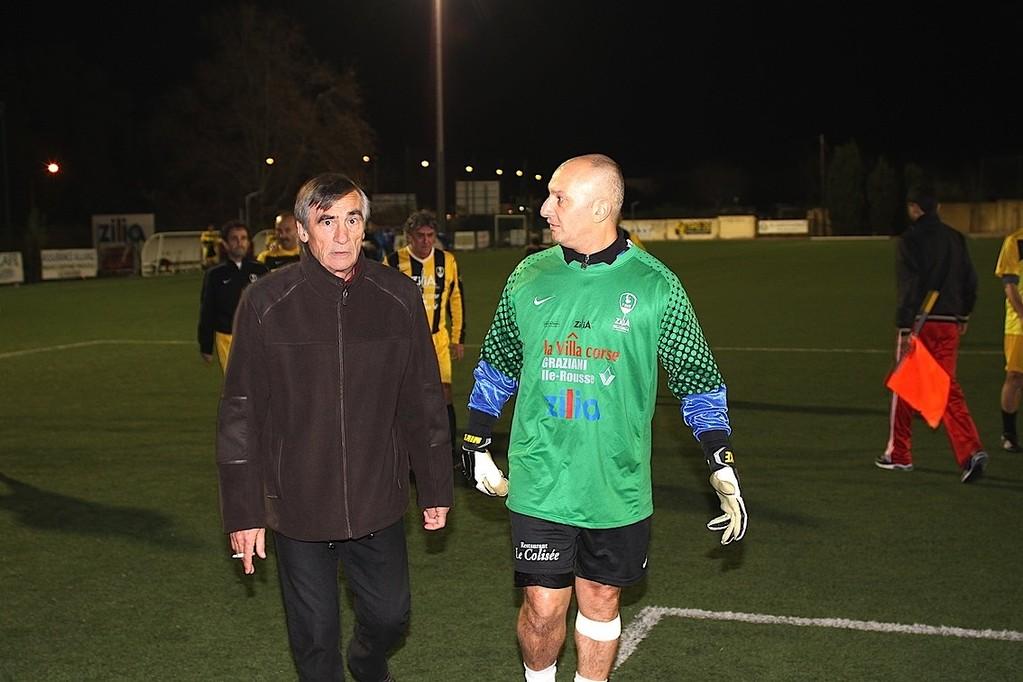 Yves Sacco et son ancien entraîneur Fanfan Félix
