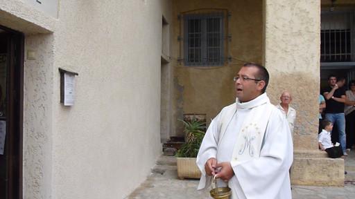 La bénédiction de l'abbé Christophe Boccheciampe