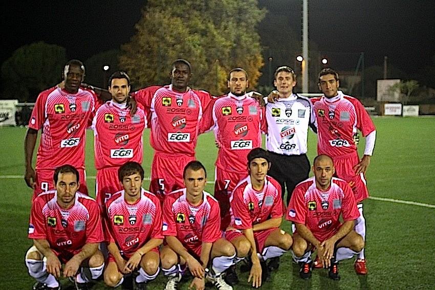 L'équipe du FC Calvi