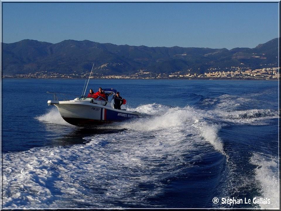 SNSM, Affaires maritimes : tout le monde était en mer dimanche à Bastia