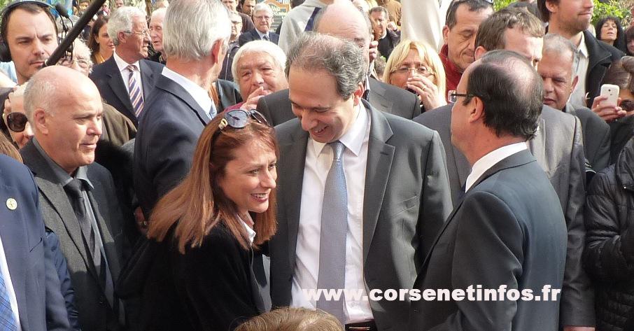 Véronique Calendini-Emmanuelli salue le candidat