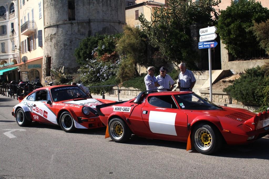 Lancia stratos et Porsche