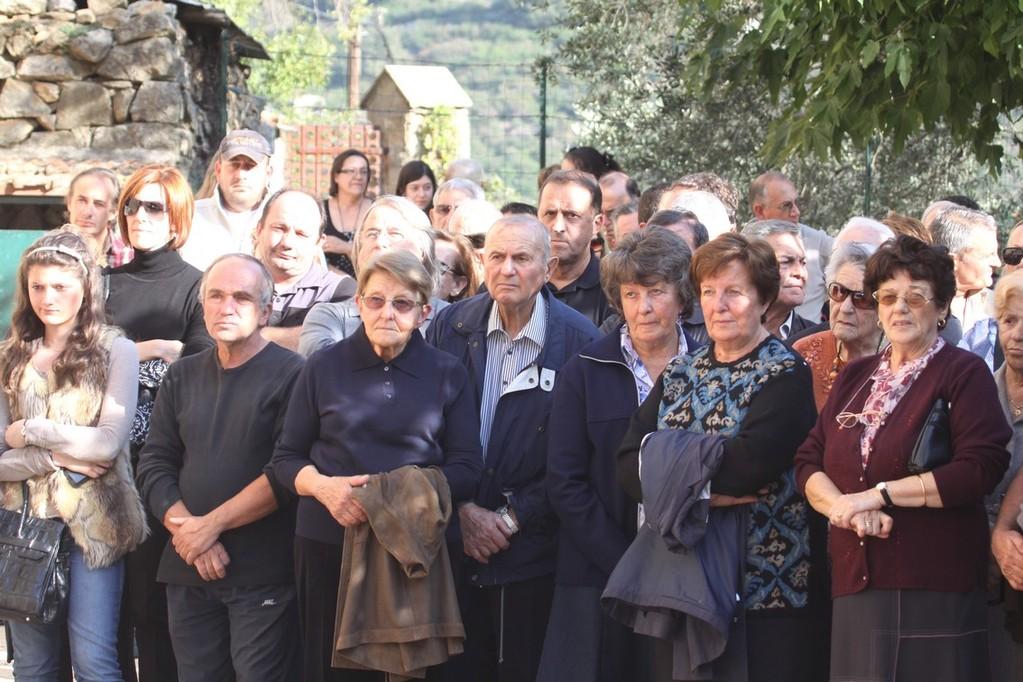 Elus et anonymes présents à Muro