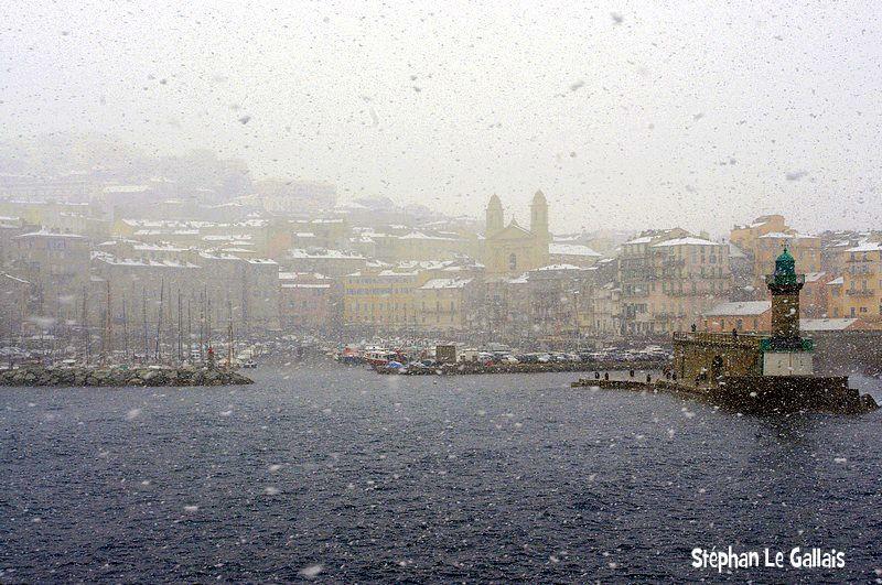 Une très belle image du Vieux-Port de Bastia de Stéphan Le Gallais
