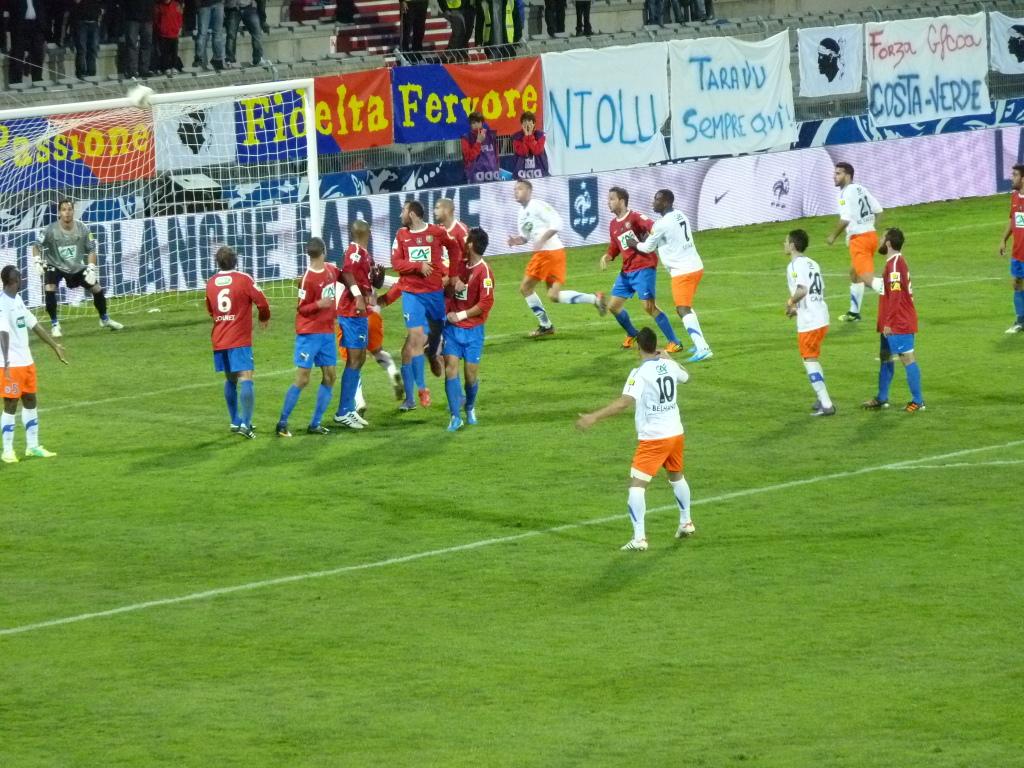 Dernière action de Montpellier