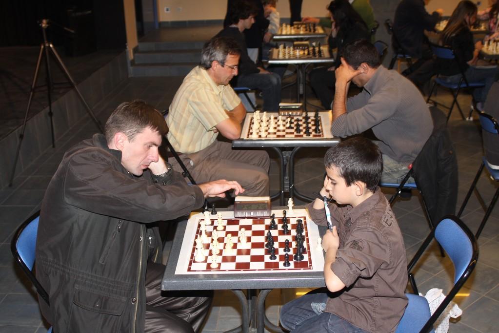 Les GMI ont participé au tournoi Blitz