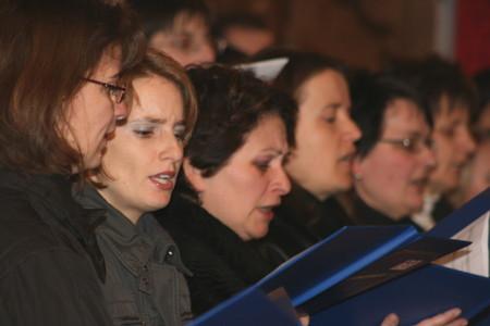 Sängerinnen Taktschleicher und CHORiosum