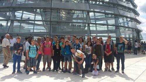 Auf dem Reichstagsdach