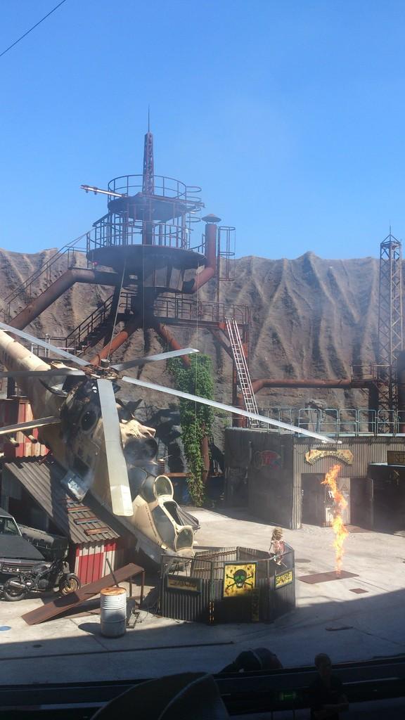 Filmpark Babelsberg - Stuntshow