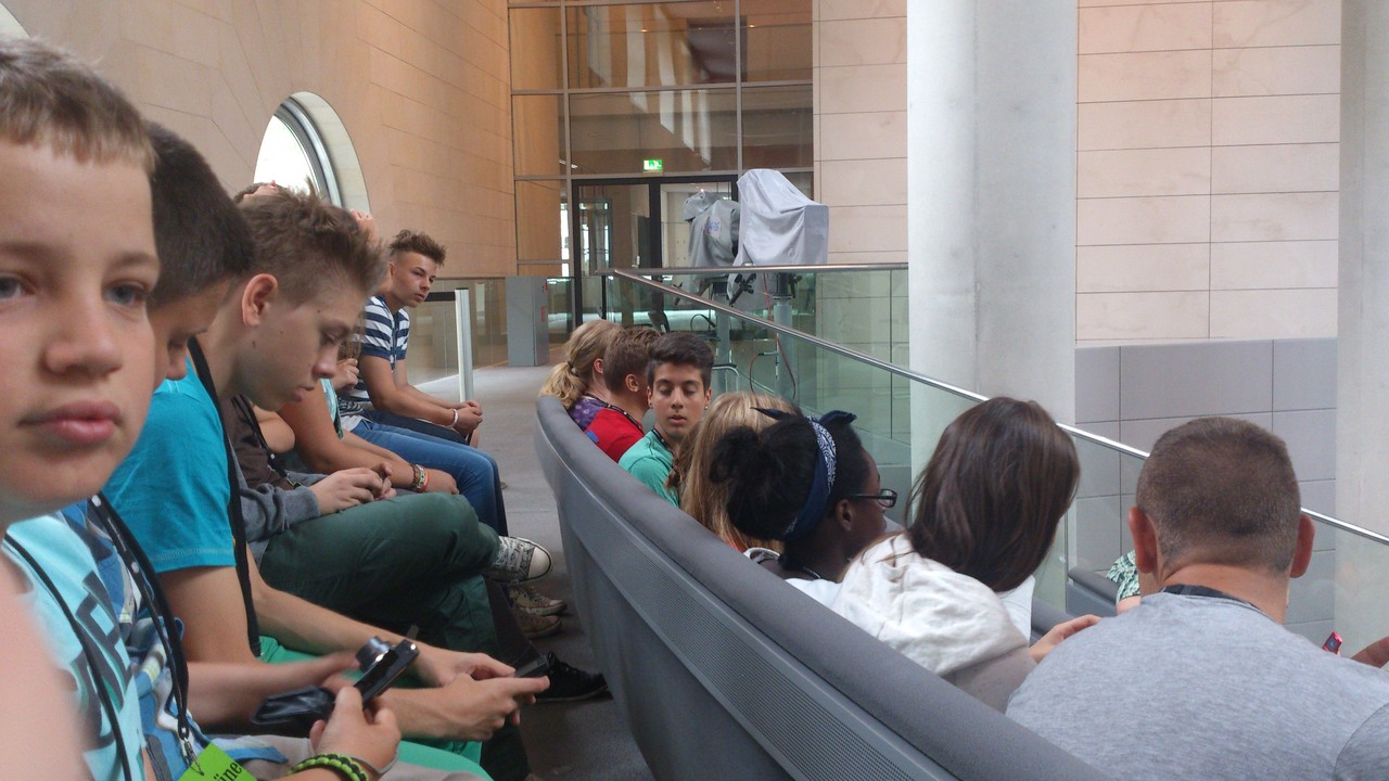 Im Reichstag