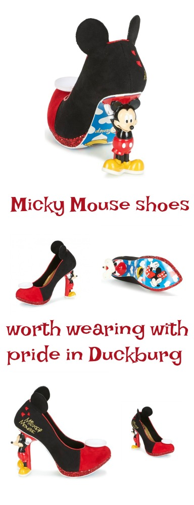 Micky Mouse Shoes that are worth wearing with pride in Duckburg and Disneyland